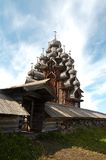 Vieille église en bois Photographie stock