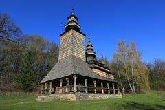Vieille église en bois Images stock