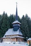 Vieille église en bois Photos libres de droits