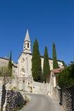 Vieille église en France, Provence Image stock