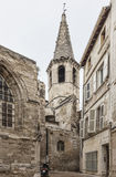 Vieille église en pierre Photos libres de droits