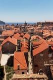Vieille église et cathédrale de St Blaise de ville de Dubrovnik Photos libres de droits