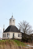 Vieille église hollandaise type photo libre de droits