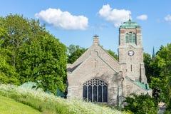 Vieille église médiévale à Stockholm, Suède Photographie stock libre de droits