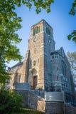 Vieille église médiévale à Stockholm, Suède Photos libres de droits