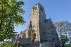 Vieille église médiévale à Stockholm, Suède Photographie stock