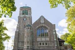 Vieille église médiévale à Stockholm, Suède Photo libre de droits
