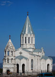 Vieille église médiévale dans Shushi Photographie stock