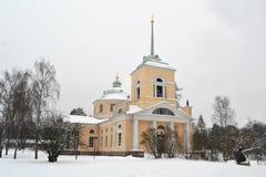 Vieille église orthodoxe dans Kotka photos stock
