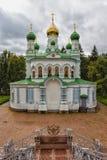 Vieille église orthodoxe poltava Photo stock