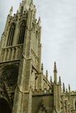 Vieille église ou cathédrale en pierre Images stock