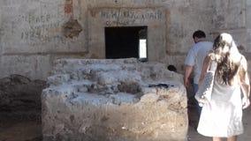 Vieille église ruinée images libres de droits