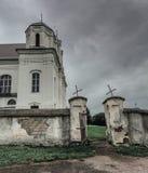 Vieille église rurale Illustration Stock