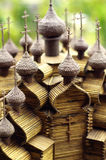 Vieille église russe en miniature Image libre de droits