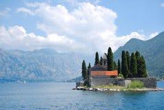 Vieille église sur l'île Photos stock
