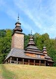Vieille église ukrainienne Photos stock