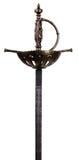 vieille épée en acier froide Image stock