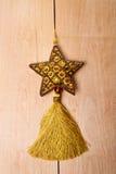 Vieille étoile de décoration Images libres de droits