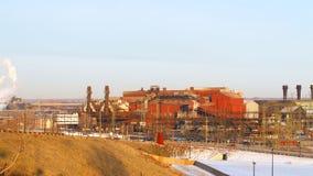 Vieille aciérie industrielle Images libres de droits