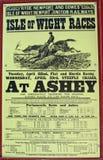 Vieille affiche du sud de publicité de rail Photo libre de droits