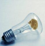 Vieille ampoule Image libre de droits