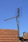 Vieille antenne de TV Images stock