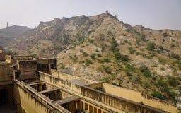 Vieille architecture à Jaipur, Inde Photographie stock libre de droits