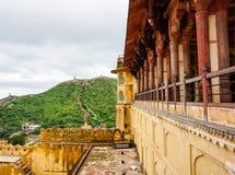 Vieille architecture à Jaipur, Inde Photo stock