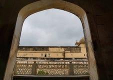 Vieille architecture à Jaipur, Inde Images stock