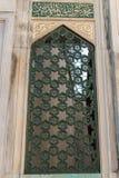 Vieille architecture de fenêtre des temps de tabouret Image libre de droits