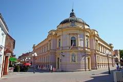 Vieille architecture de Pozega, Croatie Image libre de droits