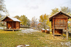 Vieille architecture géorgienne Images libres de droits