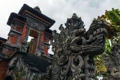 Vieille architecture indoue sur l'île de Bali Photos libres de droits
