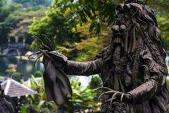 Vieille architecture indoue sur l'île de Bali Photographie stock