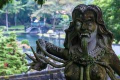 Vieille architecture indoue sur l'île de Bali Photographie stock libre de droits