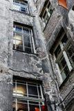 Vieille arrière-cour de Berlin Images stock