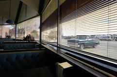 Vieille artère 66 de wagon-restaurant Images libres de droits