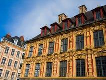 Vieille ausländische Wertpapierbörse in Lille Lizenzfreie Stockbilder