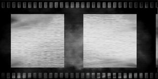 Vieille bande de film Photo libre de droits