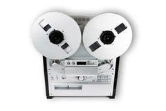 vieille bande sonore d'enregistreur Images libres de droits
