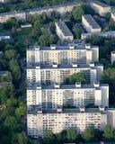 Vieille banlieue à Vilnius Photographie stock libre de droits