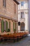 Vieille barre de bière dans la vieille ville de Bayreuth Images libres de droits