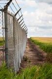 Vieille barrière de sécurité Photos libres de droits