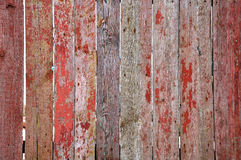 Vieille barrière en bois Images stock