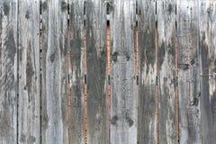Vieille barrière en bois grise Photos stock