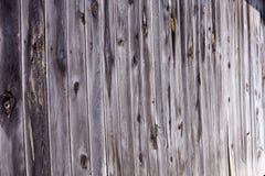 Vieille barrière en bois superficielle par les agents naturelle Photographie stock