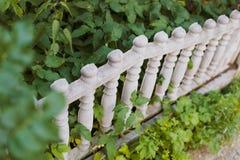 Vieille barrière en pierre Photo libre de droits