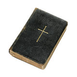 Vieille bible miniature Photographie stock