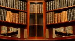 Vieille bibliothèque Photos stock