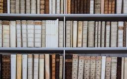 Vieille bibliothèque Image libre de droits